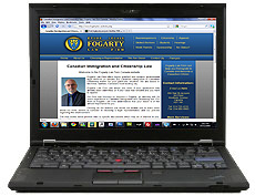 Contact Fogarty Law Firm via Email