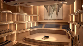 1,900 seat concert hall scheduled to open during September 2011
