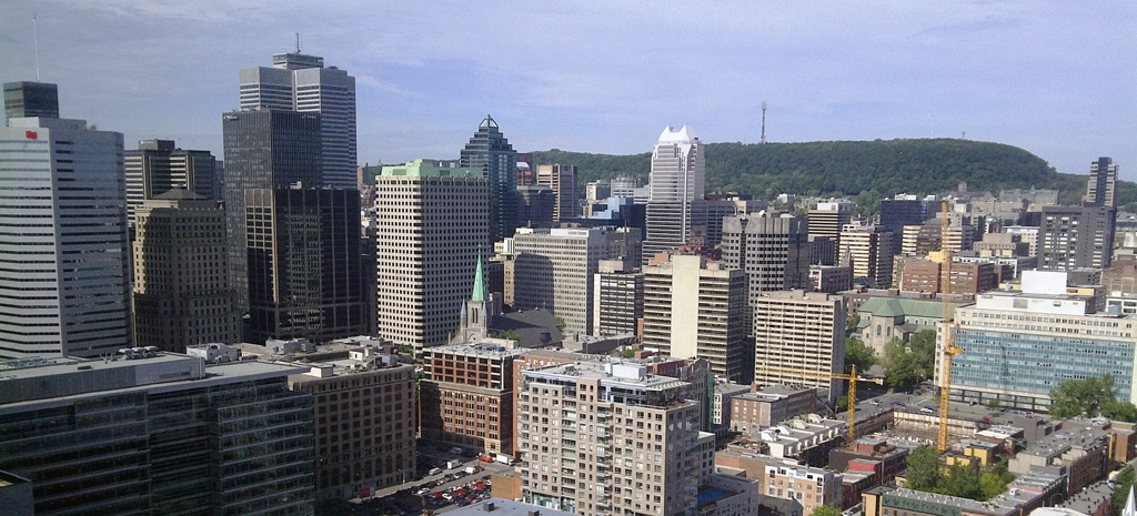 Montreal panoramic.  Photo copyright Stephen Fogarty.