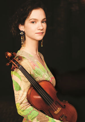 Photo of Hilary Hahn © Michael Patrick O'Leary, used with kind permission of IMG Artists