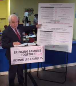Canadian Immigration Minister Honourable John McCallum